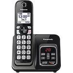 Panasonic KX-TGD530M DECT 6.0 1.90 GHz Cordless Phone - Metallic Black