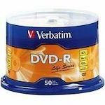 Verbatim Life 97176 DVD Recordable Media - DVD-R - 16x - 4.70 GB - 50 Pack Spindle