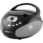 Hamilton Buhl Top Loaded Cd Boom Box AM/FM Analogue Radio With Led Display Programmable Cd Headphone and Aux In Jack Telescopic Antenna AC/DC Dual Power