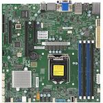Supermicro X11SCZ-F Workstation Motherboard - Intel Chipset - Socket H4 LGA-1151 - 1 x Retail Pack