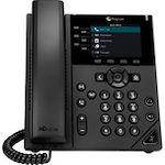 Polycom 350 IP Phone - Corded - Corded - Desktop, Wall Mountable - TAA Compliant