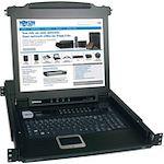 Tripp Lite B020-016-17 16-Port 1U Console KVM Switch - Steel Housing