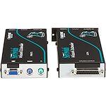 Black Box Wizard KVM Extender - VGA, PS/2, RS232, Single-Access, CATx, Skew Compensation