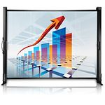 Epson ES1000 Manual Projection Screen - 50