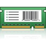 Lexmark MS911 Forms and Bar Code Card