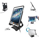 CTA Digital Anti-Theft Security Case with Stand for iPad Air