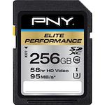 PNY Elite Performance 256 GB Secure Digital Extended Capacity (SDXC)