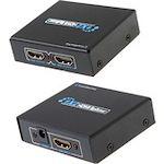Comprehensive HDMI 1 x 2 Splitter UHD 4K CDA - HD200EC