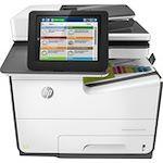 HP PageWide Enterprise 586 586f Page Wide Array Multifunction Printer - Color - Plain Paper Print - Desktop