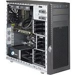 Supermicro SuperServer 5039AD-I Barebone System Mid-tower - Intel X299 Chipset - Socket R4 LGA-2066 - 1 x Processor Support - Black
